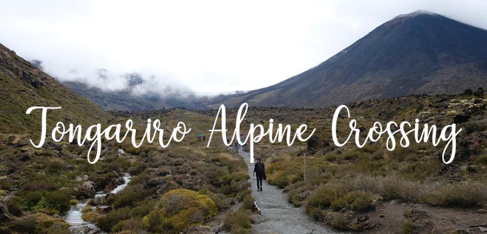 Randonnée nouvelle-zélande - tongariro alpine crossing