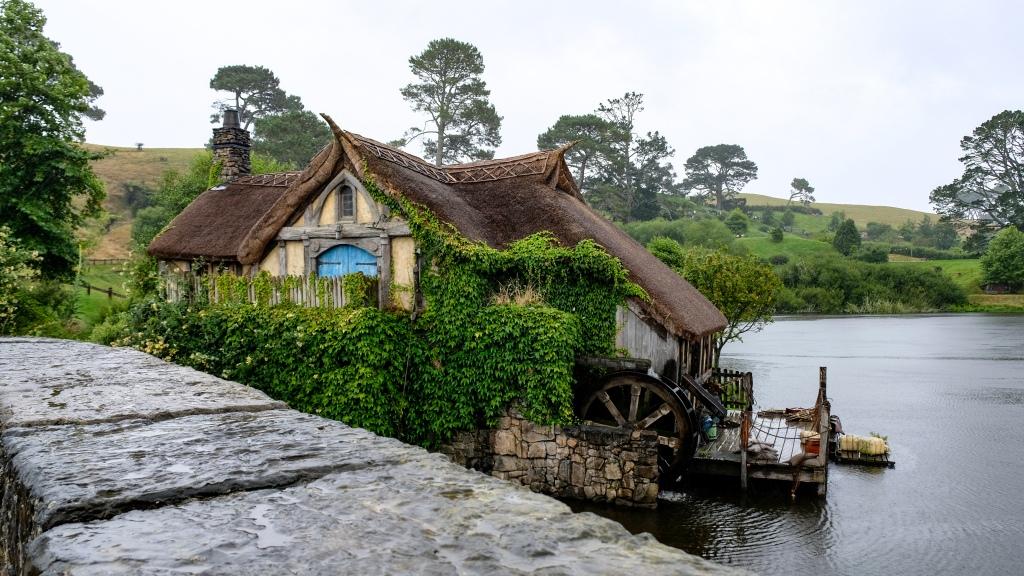 Village Hobbiton - Lieu de tournage du seigneur des anneaux en Nouvelle-Zélande