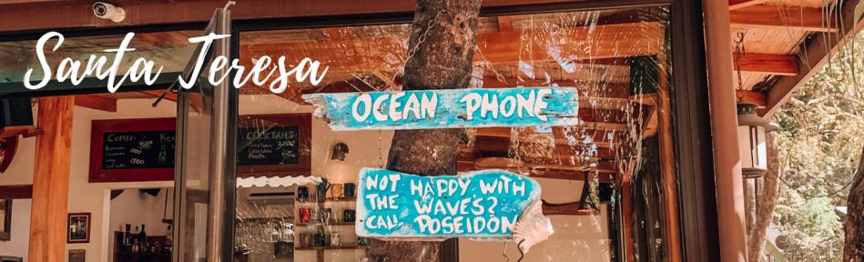 Santa Teresa - surf au Costa Rica