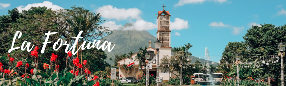 La Fortuna au Costa Rica - volcan Arenal