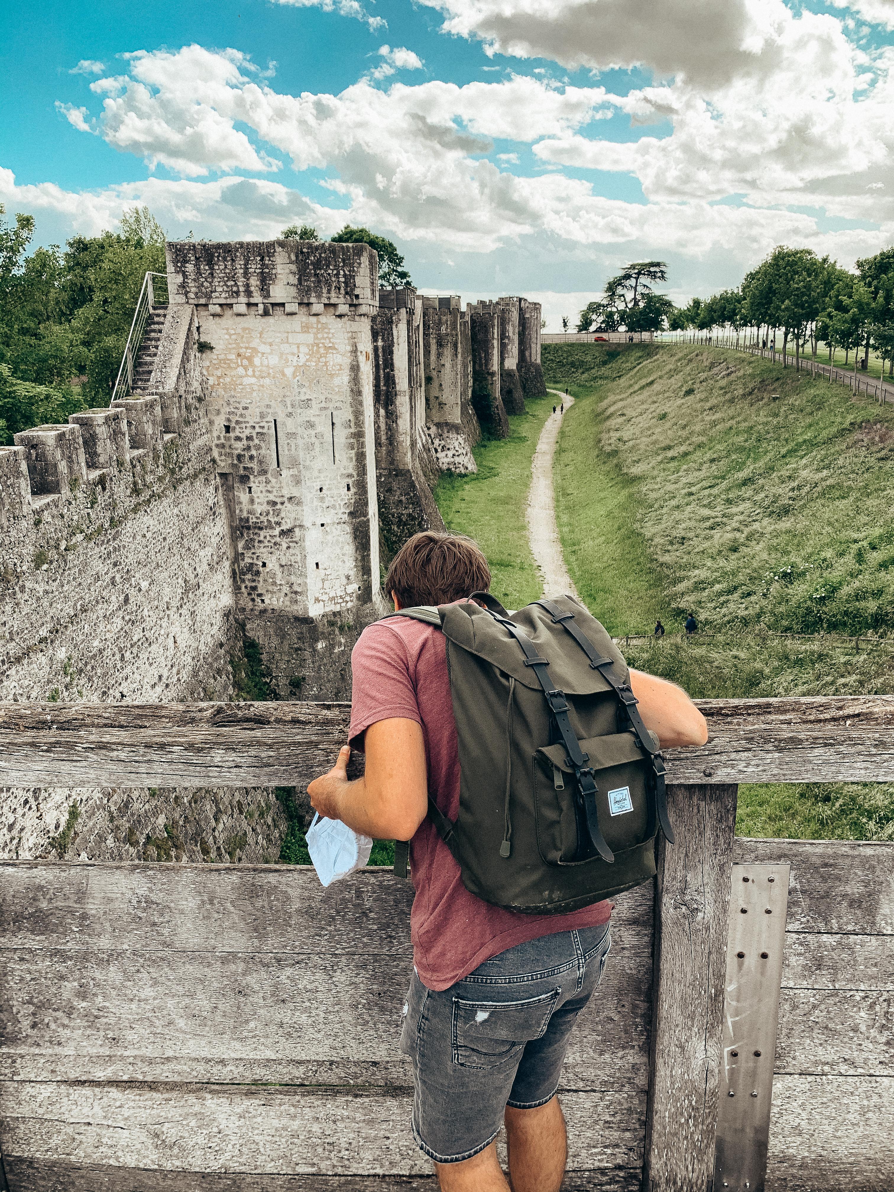 Remparts Provins - ville médiévale - escapade à moins d'une heure de Paris - déconfinement