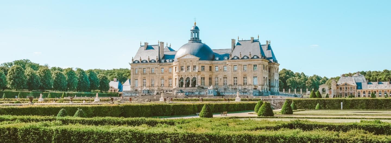 Château Vaux-le-Vicomte. Jardins Vaux-le-Vicomte