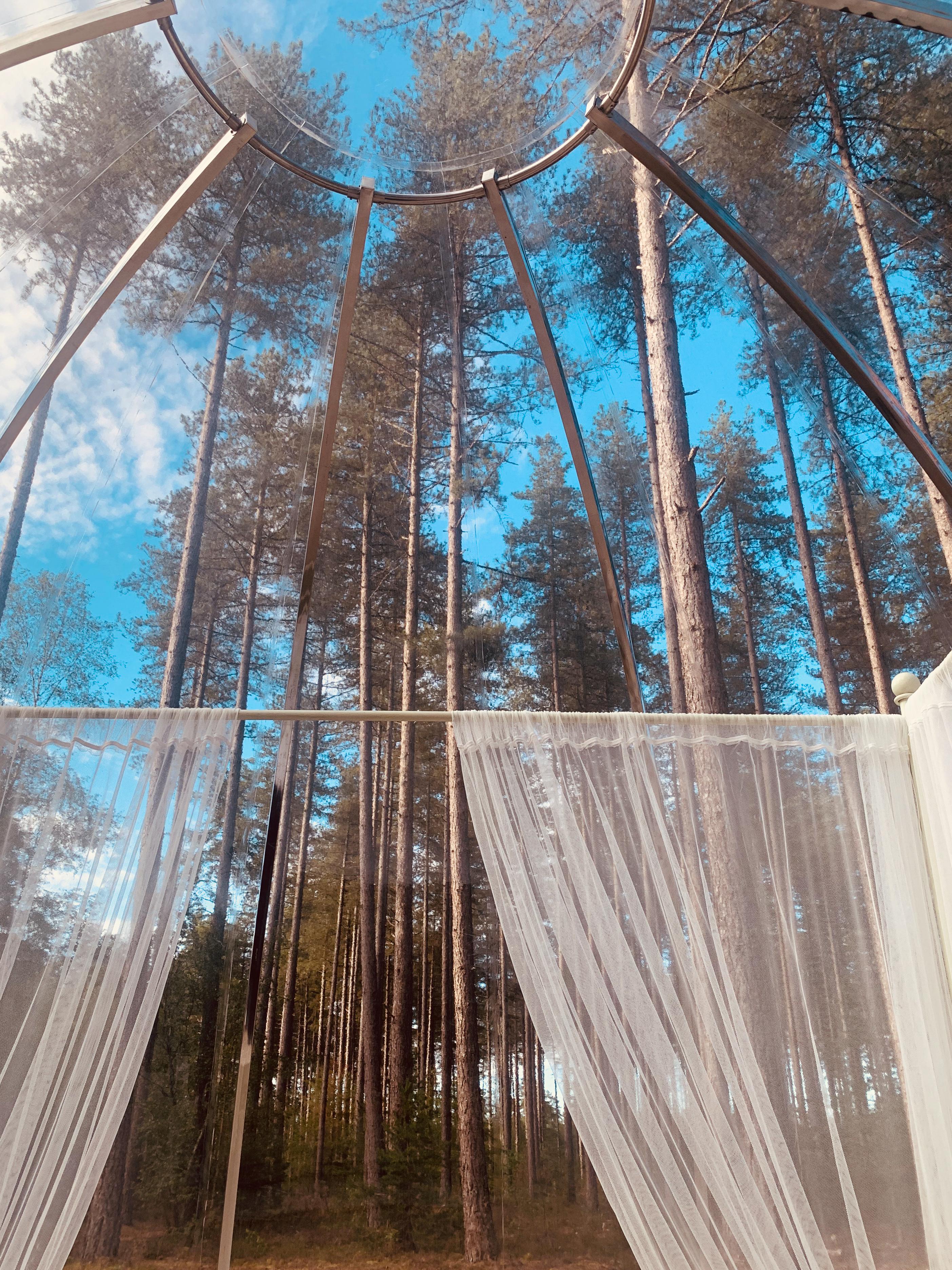 Bulles de Sologne | dormir dans une bulle | nuit insolite | nuit dans une bulle